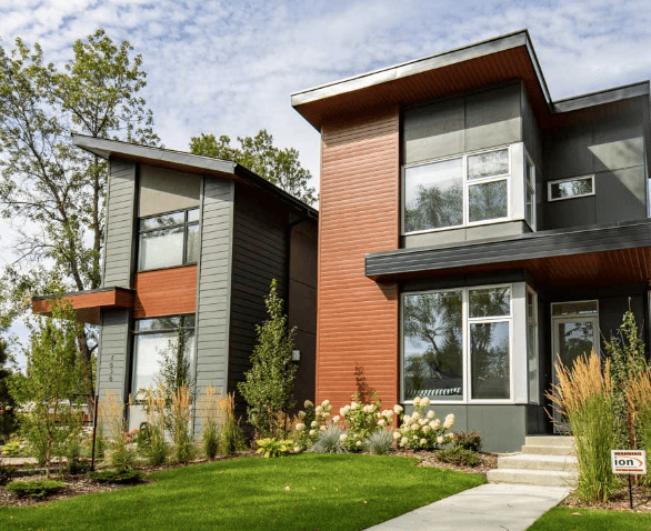 Red Deer Siding Contractors and Installers of Luxe Panel