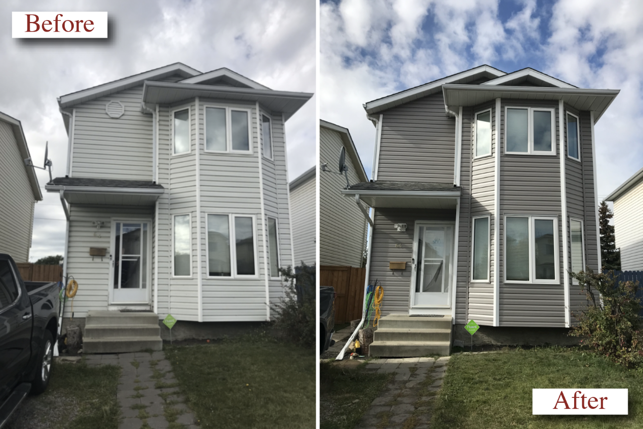 VNO Exteriors Ltd. Siding Contractor Before & After #3